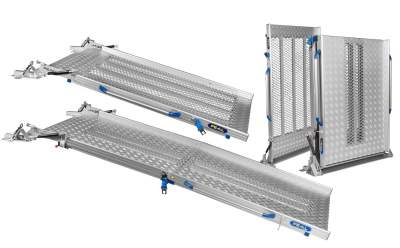 FEAL folding Van Ramps