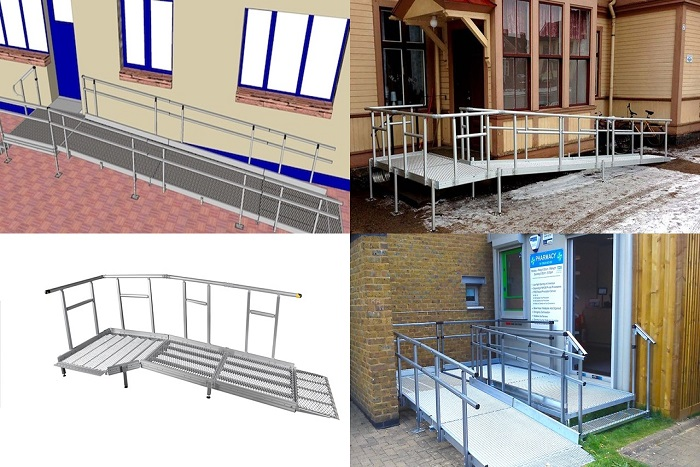 Modular Wheelchair Ramps System