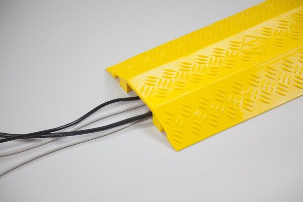 Cable Cover 38mm High - Yellow