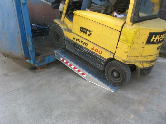 TRP150/12 Container Ramps (Min. Load Height 220mm) (7500kg Capacity)