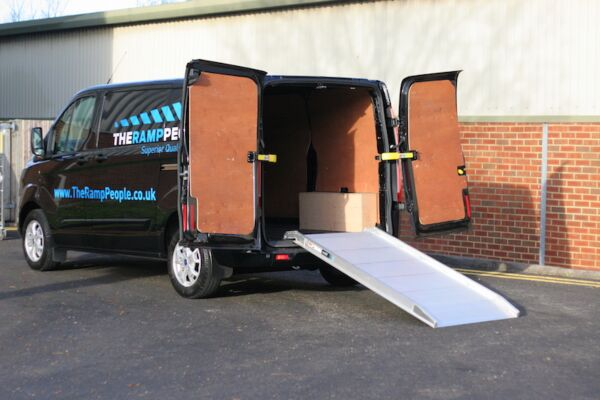 Viper ramp on the back of a van
