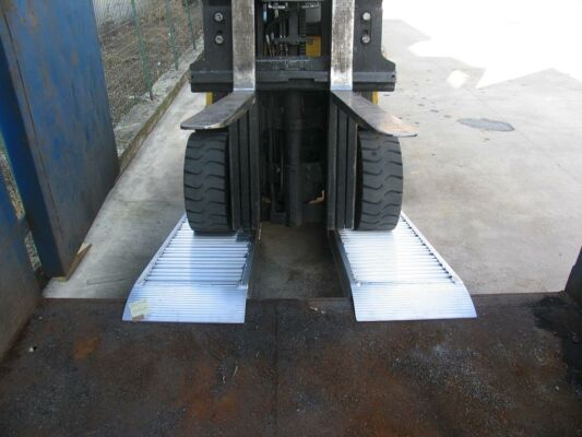 Container Ramps TRP150/15 (1500mm long x 510mm wide; Capacity; 7500kg)