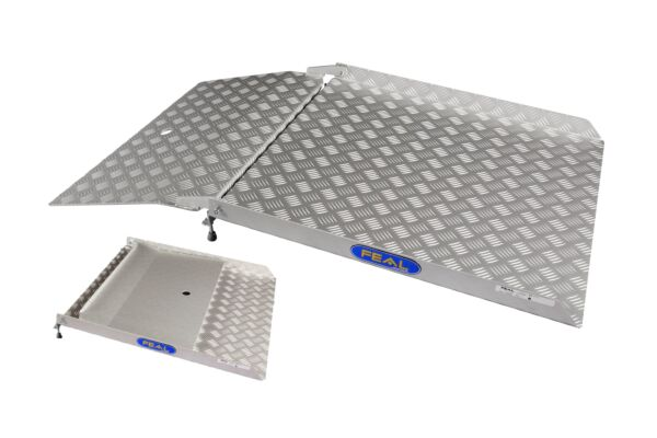Folding drive in ramp folded and unfolded