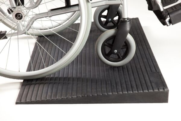 Rubber Threshold Ramps from 32mm up to 70mm high