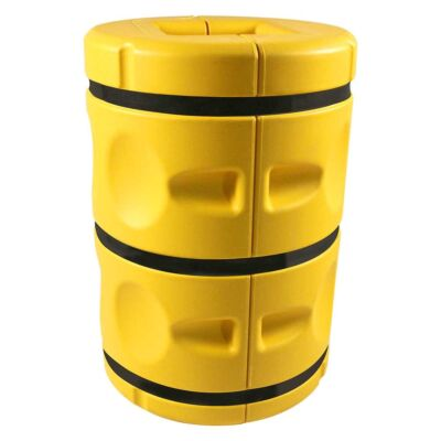 Assembled large column protector