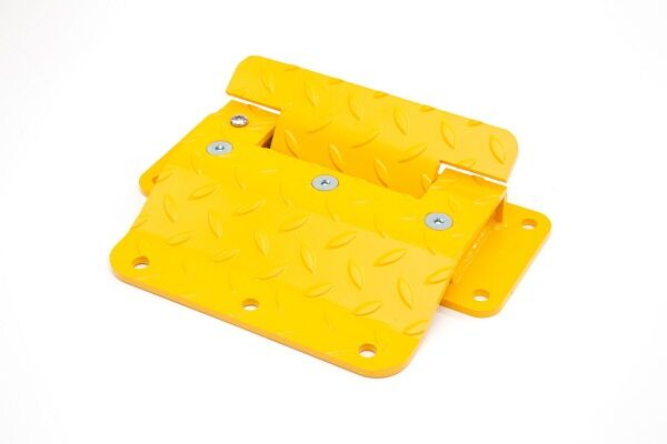 SPEED BUMP MSH20 L360×W315×H50×T8mm, One screw lock down the plate to be suitable for double directions traffic powder coated Y