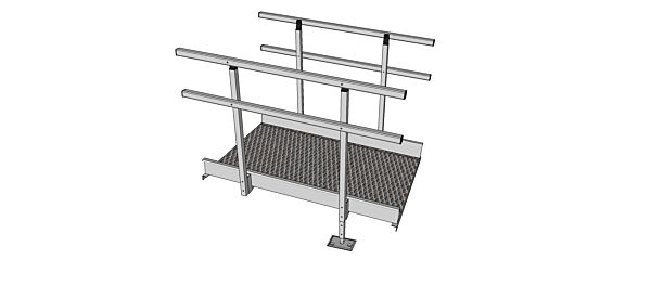 Modular ramp kit 1360mm section