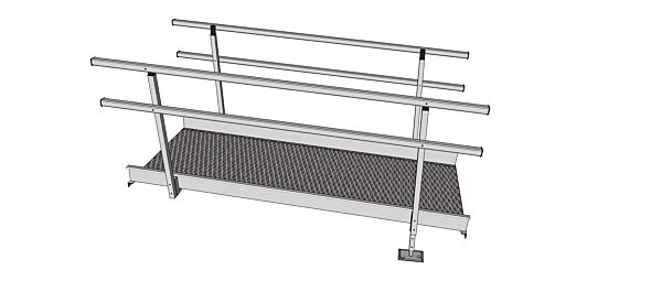 2310mm modular ramp kit section