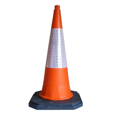 Starlite orange traffic cone 1m