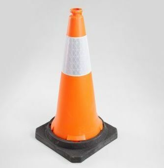 PE Traffice cone in orange