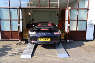 Metal Car Ramps for Lower Profile Cars