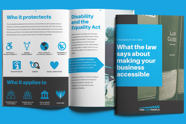 your business must have accessible to customers by law